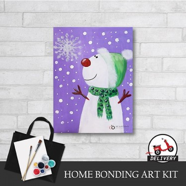 let-it-snow-xmas-home-bonding-art-kit-paint-at-home-learn-drawing-online-kl-malaysia