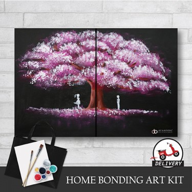 love-under-the-spring-home-bonding-art-kit-paint-at-home-learn-drawing-online-kl-malaysia