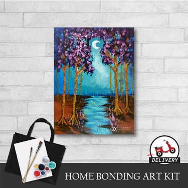 moon-river-home-bonding-art-kit-paint-at-home-learn-drawing-online-kl-malaysia