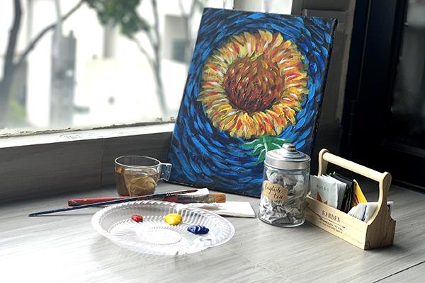 van-gogh-sunflower-home-bonding-art-kit-kl