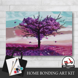 Love Shape Tree - Home Bonding Art Kit