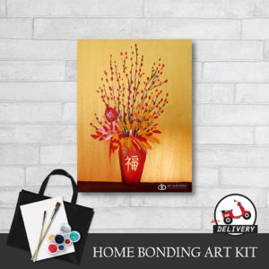 Home-bonding-art-kit-website-acrylic-paint-at-home-The-Red-Plum-Blossom-learn-art-online-class-delivery-malaysia-chinese-new-year-activity-gathering-01